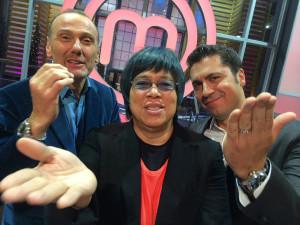 Michael, Claudio and Alvin